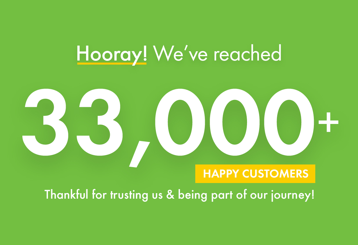 Kalium reached more than 33000+ happy clients. We are thankful for trusting us.
