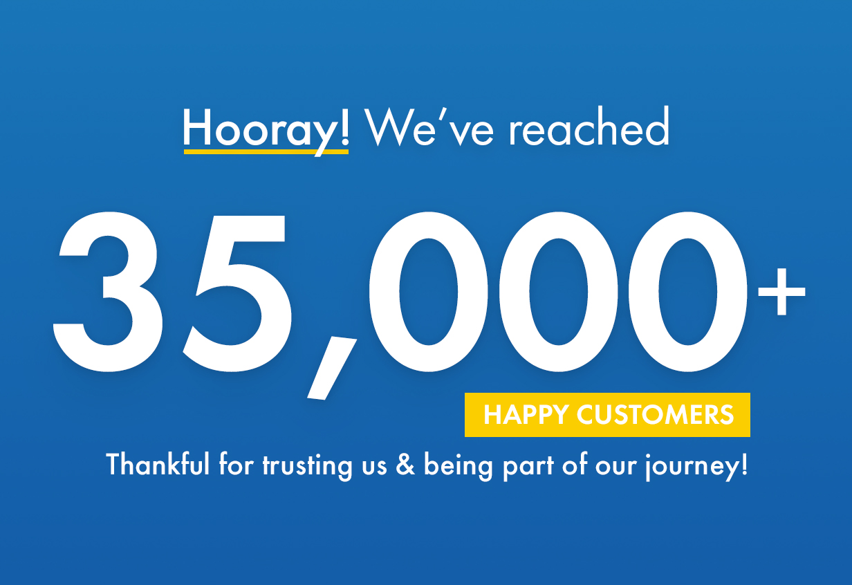 Kalium reached more than 35000+ happy clients. We are thankful for trusting us.