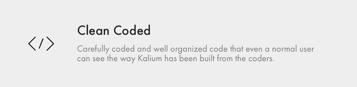 Clean Coded clean coded - Kalium – Creative Theme for Professionals