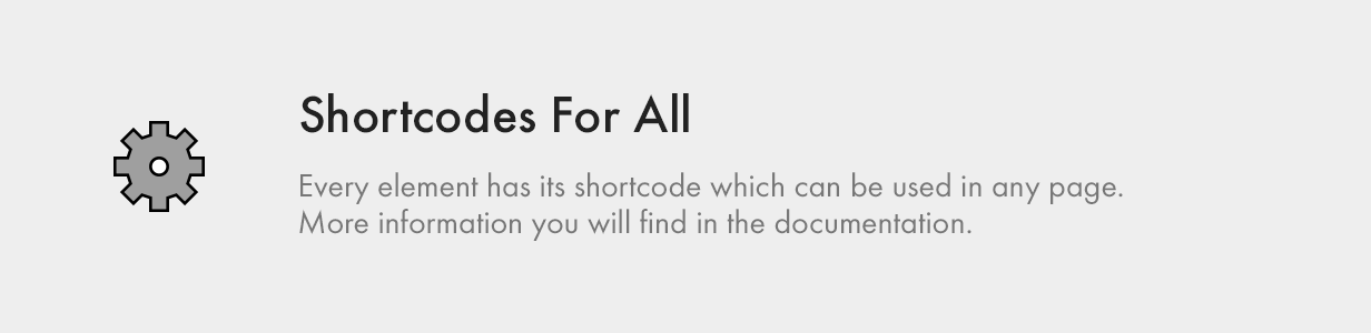 Shortcodes for All shortcodes for all - Kalium – Creative Theme for Professionals