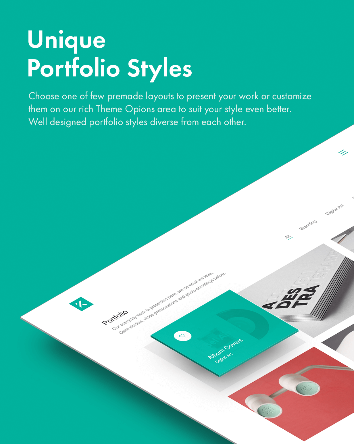 Unique Portfolo Styles unique portfolio styles - Kalium – Creative Theme for Professionals