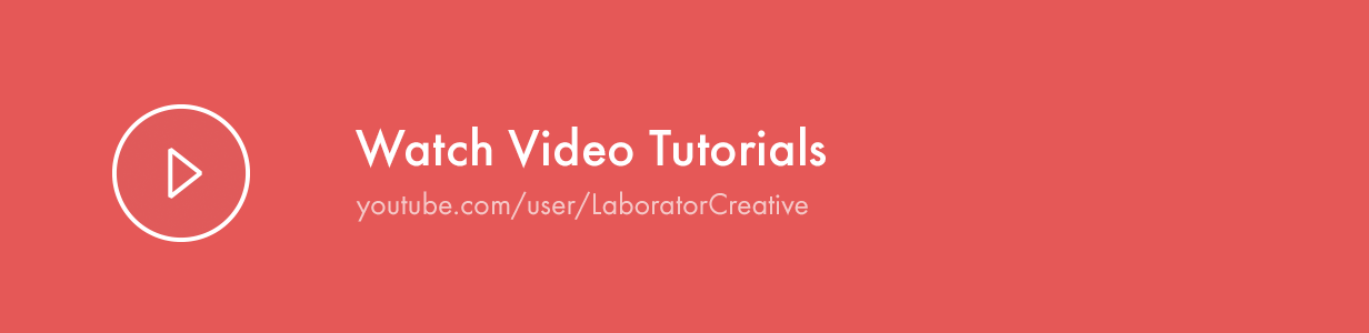 Video Tutorials watch video tutorials - Kalium – Creative Theme for Professionals